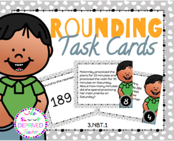 NBT: Numbers and Operations in Base Ten Math Task Card Bundle