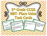 TCAP Prep: NBT Understand the Place Value System Task Cards