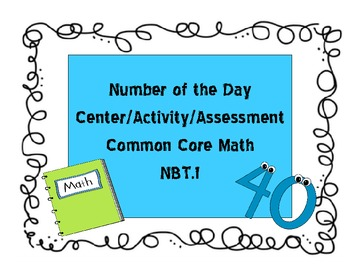Common Core Aligned Representing Numbers in a Variety of Ways Tasks NBT.1