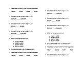 NBT2 Place Value Quiz and HW Bundle