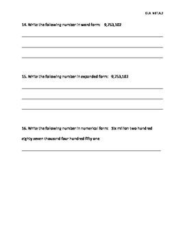 NBT.A.2 Assessment (SBAC/ CRT)
