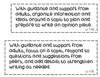 NC 2018-19 1st Grade Literacy Standards