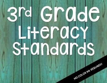 NC 2018-19 3rd Grade Literacy Standards