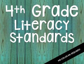 NC 2018-19 4th Grade Literacy Standards