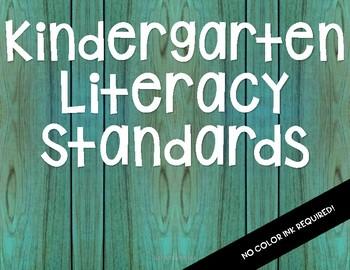 NC 2018-19 Kindergarten Literacy Standards