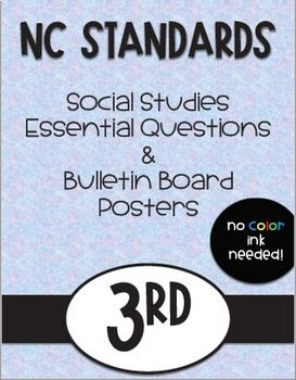 3rd NC Grade Social Studies Standards and Focus Wall Posters