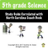 North Carolina 5th Grade Science EOG Study Guide