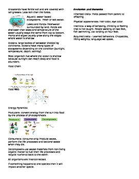 NC 5th grade Study Guide