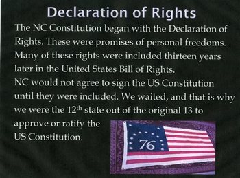North Carolina: Constitution and Rights