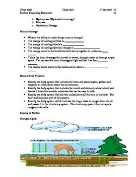 NC Grade 8 Science EOG Study Guide
