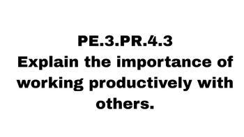 NC Healthful Living Personal Responsibility Printable Slides