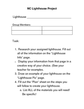 NC Lighthouse Project
