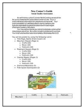 NC New Comers Brochure