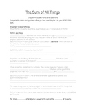 NC READY EOG Assessment for Science- Chapter 4, The Sum of All Things Activities