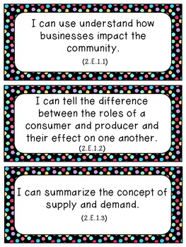 NC Science & SS Essential Standards I-Can Statements_2nd Grade