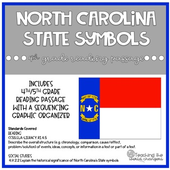 NC State Symbols Reading Passage