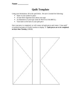 NC Symbols Quilt Project