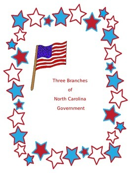 NC Three Branches of Government Card Sort