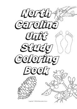 NC Unit Study / Coloring Book
