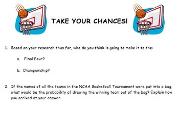 NCAA Tournament Challenge Project (March Madness)