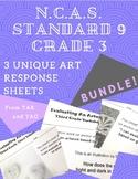 NCAS Art Standard 9, Grade 3 Worksheets