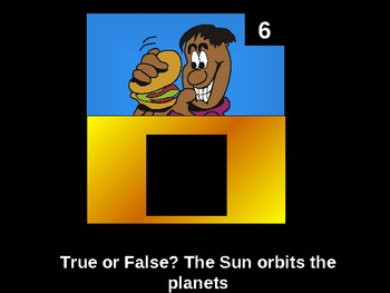 NCES Squares- The Solar System