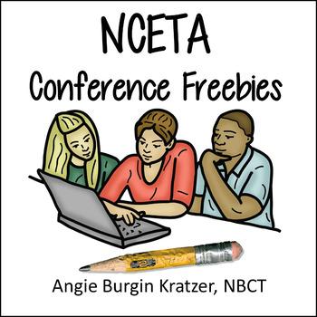 NCETA Conference Freebies