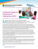 NCLD Parent's Guide to RTI - Response to Intervention for Parents