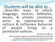 NCSS SWBAT Learning Goals Posters Grades K-12: Social Studies