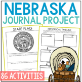 NEBRASKA History Project with Lesson Plans, State Research Journal