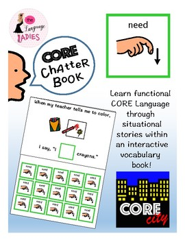 NEED: Interactive CORE City Chatter Book