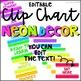 NEON Behavior Clip Chart Editable