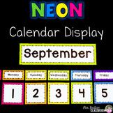 Calendar Display - NEON Decor