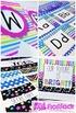 NEON Color Scheme Classroom Decor Bundle