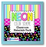 NEON Color Scheme Classroom Decor Bundle