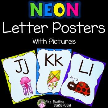 Letter Posters - NEON Decor
