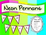 NEON Pennant Set