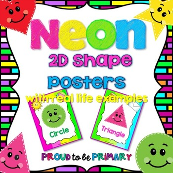 NEON Shape Posters