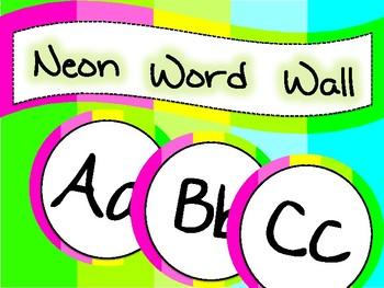 NEON Word Wall