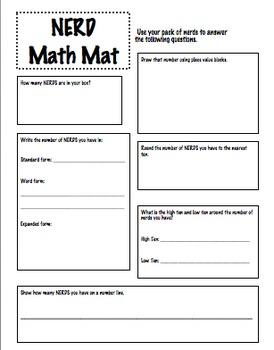 NERDS Math Mat
