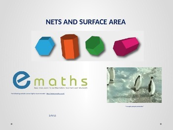 NETS AND SURFACE AREAS