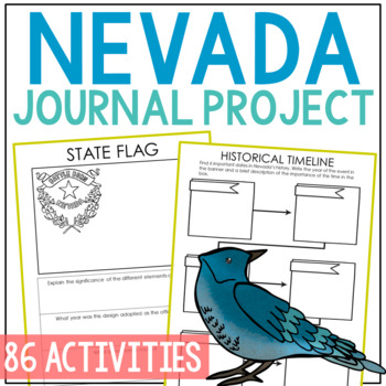 NEVADA History Project, Differentiated State Research Journal {EDITABLE}