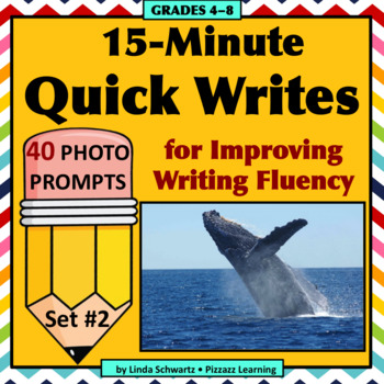 15-MINUTE QUICK WRITES • GRADES 4–8 • Photos for Writing!