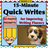 15-MINUTE QUICK WRITES • GRADES 4–8 • An Early Finisher Activity!