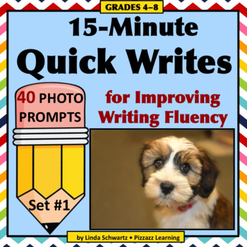 15-MINUTE QUICK WRITES • GRADES 4–6 • An Early Finisher Activity!