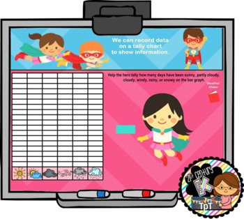 Everyday Interactive Calendar for SMART Board PK, K, 1st SUPER HERO THEME