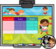 Everyday Interactive Calendar for SMART Board PK, K, 1st S