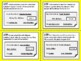 NEW  3rd grade Personal Financial Literacy Task Cards (aligned to TEKS 3.9 A-F)