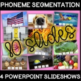 NEW! 4 Phoneme Segmentation Powerpoints