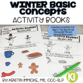 Winter Basic Concepts Activity Booklets